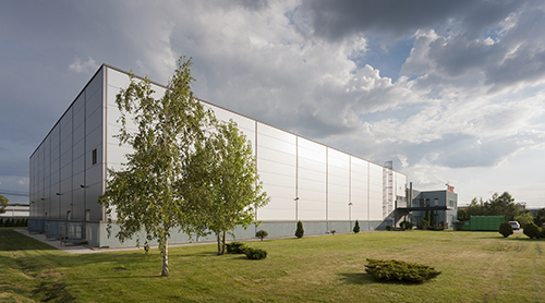 Stihl Romania - new distribution center cover